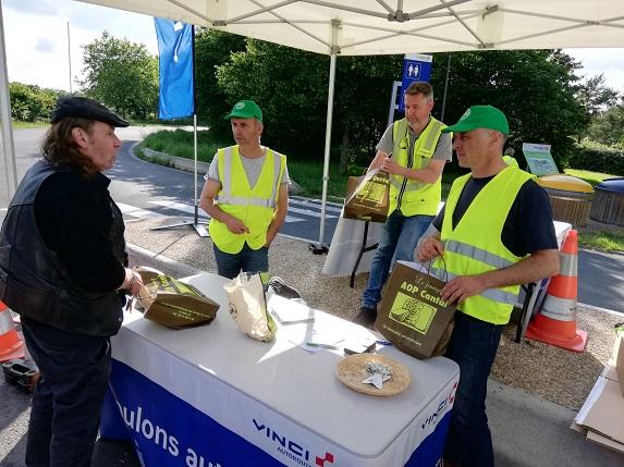 Solidarité : des fromages pour les routiers