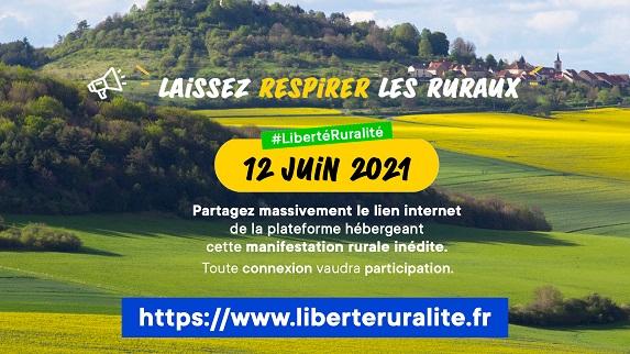 La ruralité menacée  : mobilisons nous le 12 juin