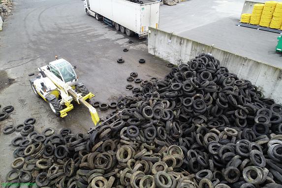 Opération groupée : Bilan de la collecte de pneus