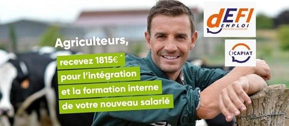 Défi emploi : 1815 € pour l'intégration et la formation de votre nouveau salarié