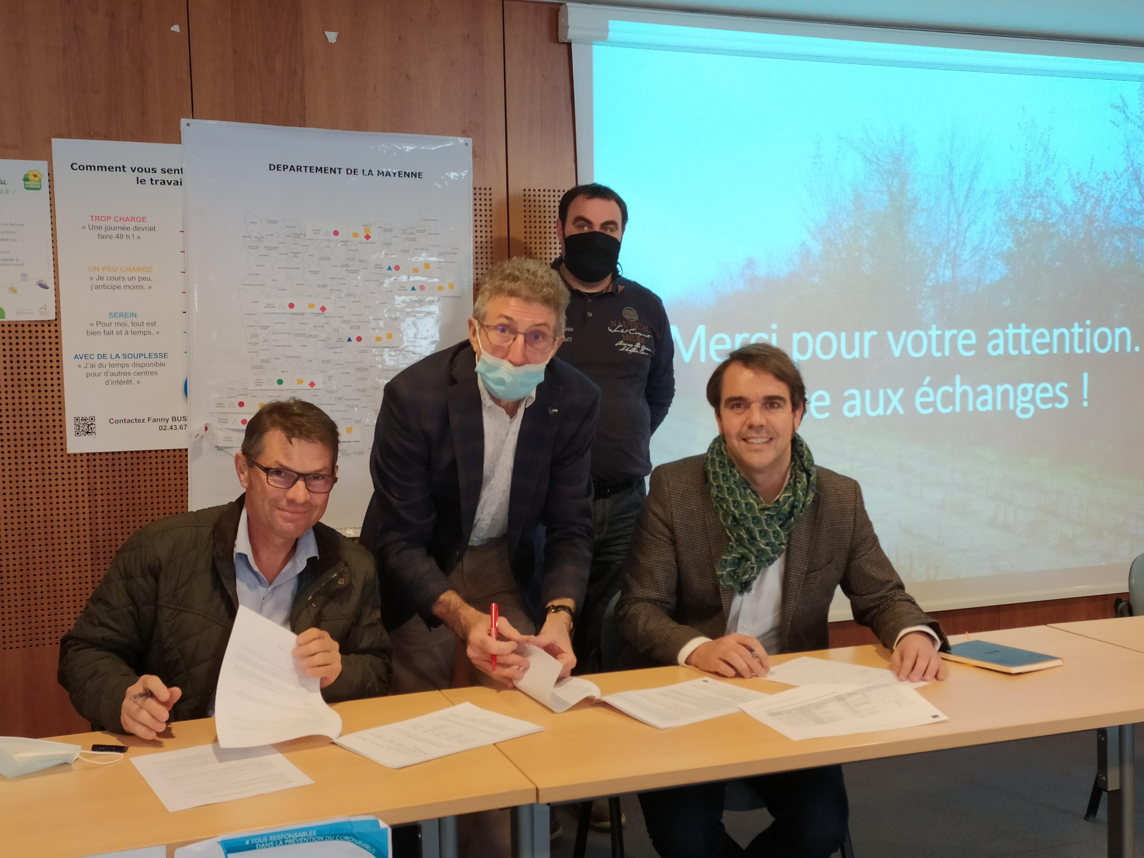 Service environnementaux : premier partenariat signé dans les Pays de la Loire