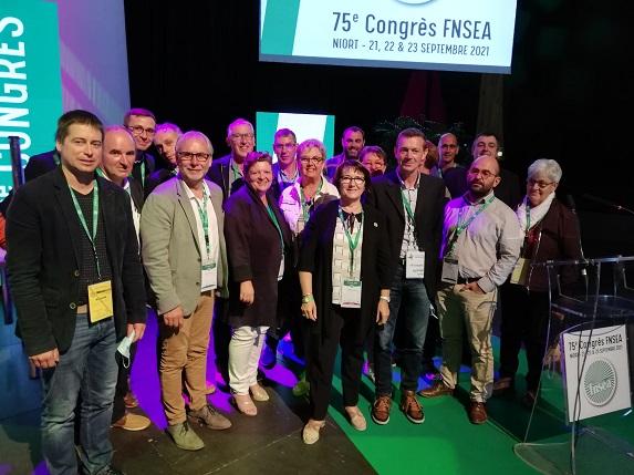 Congrès de la FNSEA : Christiane Lambert revendicative