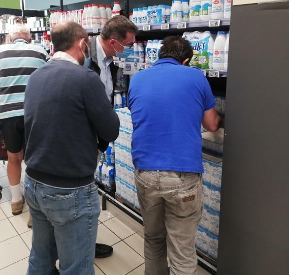 Syndical : les producteurs de lait rencontrent le Président de Système U Ouest