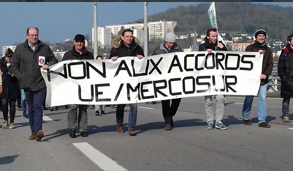 NON aux accords UE-Mercosur : signez la pétition !