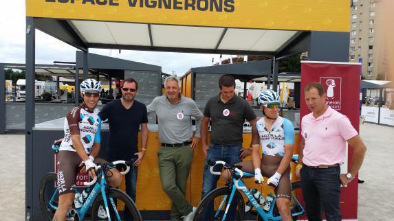 Tour de France : opération séduction réussie pour les vins des Pays de la Loire