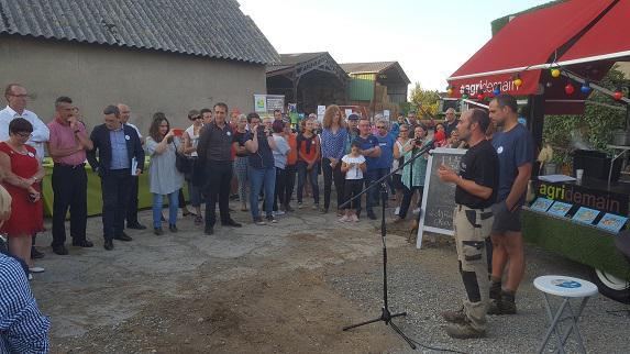 Agridemain : l'exploitation de Frédéric et Laurent Vincent a accueilli l'Agridemain Tour pour célébrer la « fête des moissons et des récoltes »