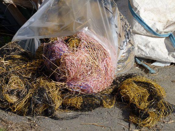 Déchets : collecte bâches, enrubannage, ficelles et filets