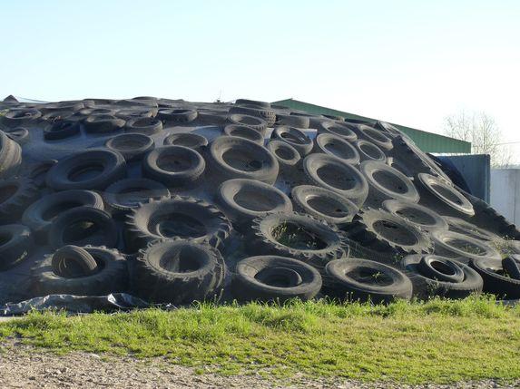 Sud Saumurois : collecte de pneus usagés