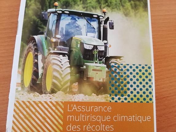 Réunion assurance climatique le 21 novembre dans le Segréen