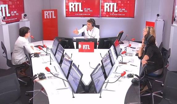 Radio : Christiane Lambert dans RTL soir