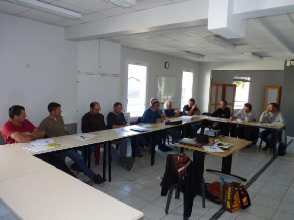 Agriculture biologique : réunion de la section FDSEA