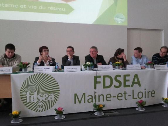 FDSEA : retour en images sur l'AG 2018
