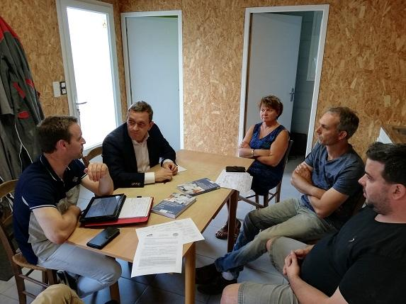 CETA :  FDSEA et JA interpellent les députés