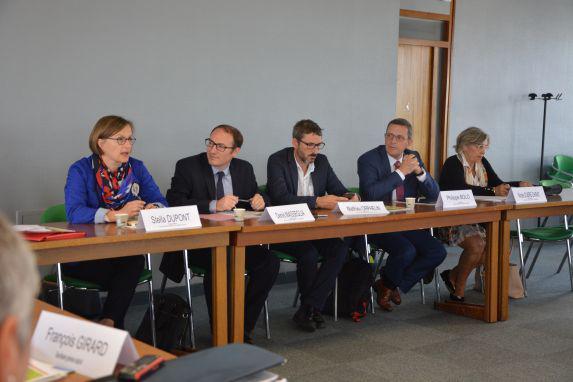 Syndical : rencontre avec les députés