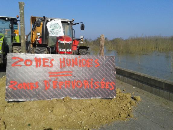 Zones défavorisées : les éleveurs manifestent à Briollay
