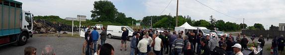 Mobilisation : le Maine-et-Loire de permanence aujourd'hui à Donges !