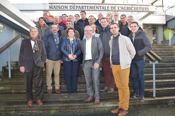 Election : le nouveau Bureau Chambre d'agriculture élu