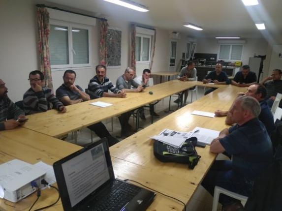 Angers ouest : réunion cantonale