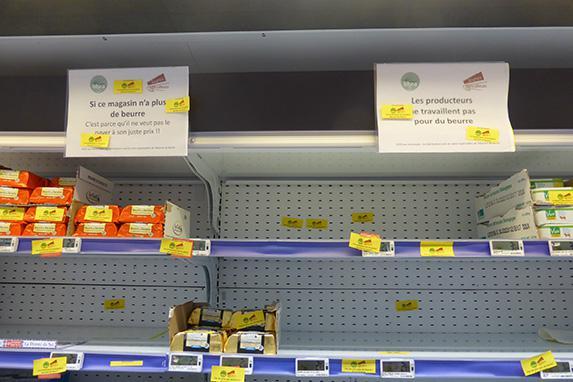 Beurre - Leclerc concède des hausses de tarifs sur le prix du beurre