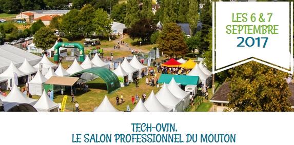 Ovins : Tech Ovin les 6 et 7 sept. à Bellac (87)